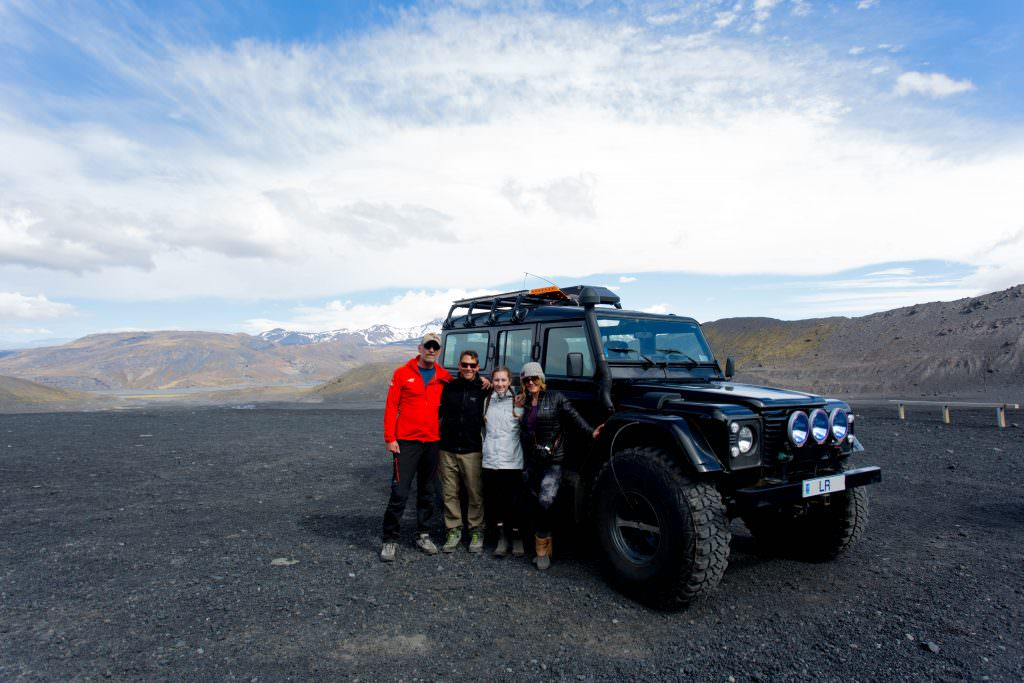 super jeep tour to Thorsmörk