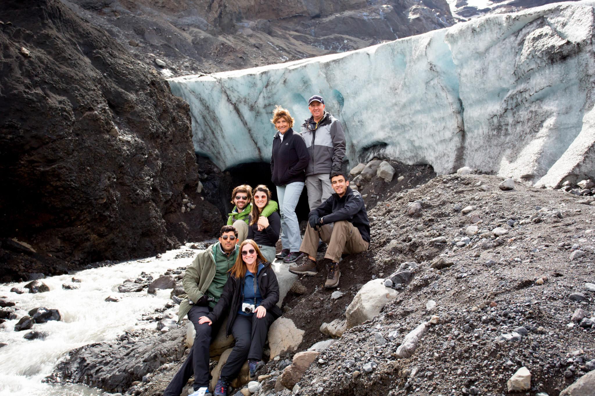 Gígjökull outlet glacier