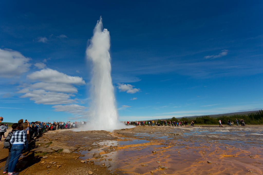 Strokkur geothermal spout