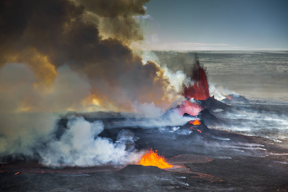 Holuhraun volcanic eruption