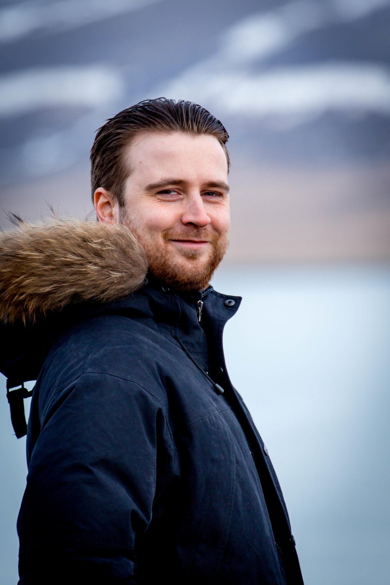 Jóhannes Arnar Logason, driver guide