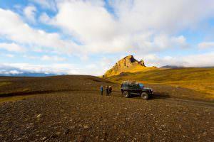 Unicorn mountain on Fjallabak trail