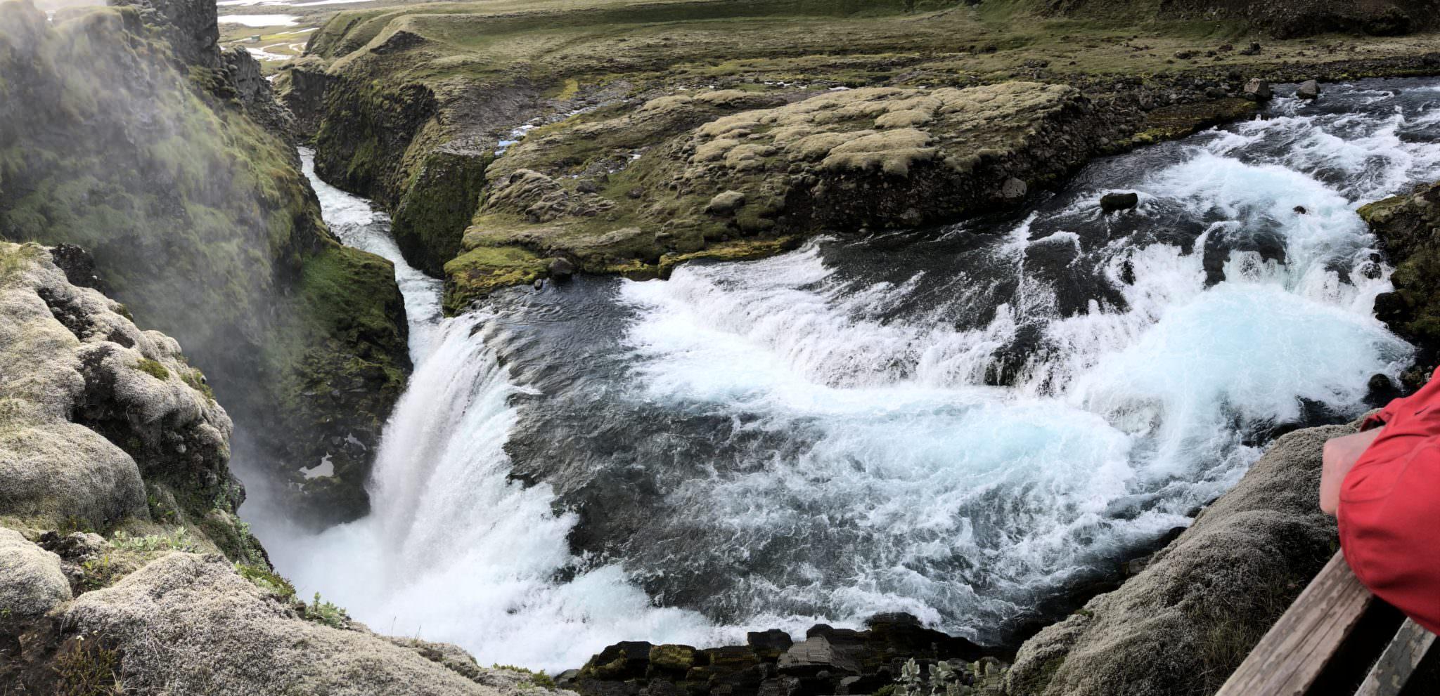 Ófærufoss waterfall