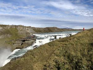 Gullfoss from east bank