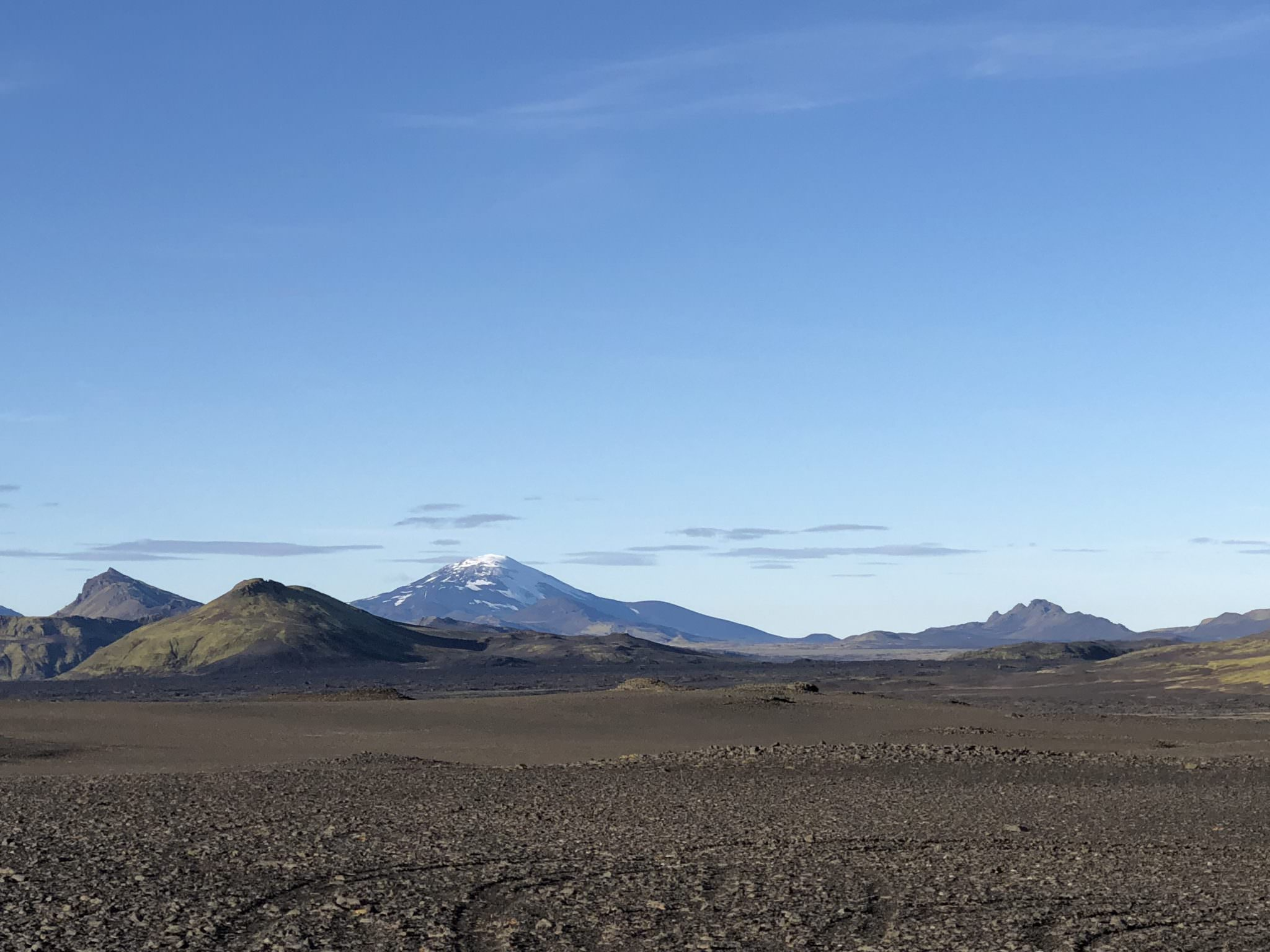 Mt Hekla seen from Fjallabak