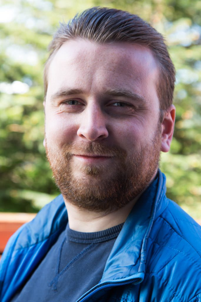Johannes Arnar Logason, driver guide