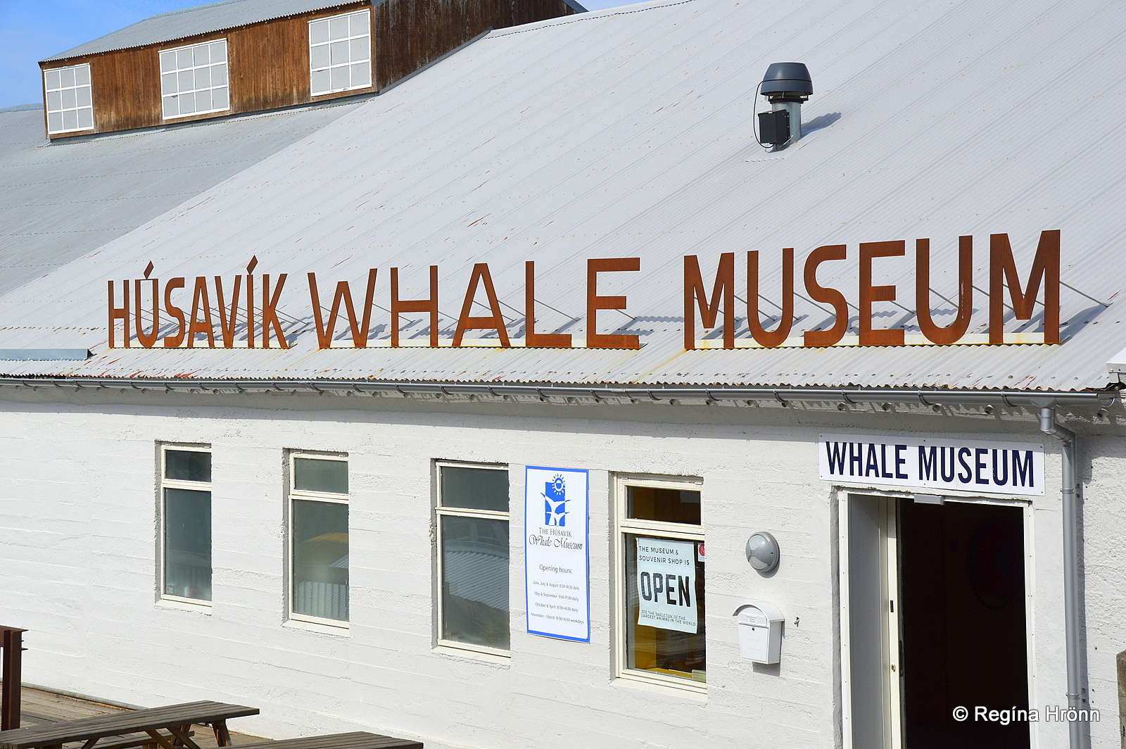 The Whale museum in Húsavík - outside photo